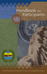 Handbook for Participants (UN Permanent Forum on Indigenous Issues)
