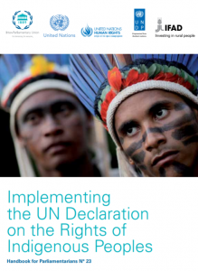 Implementing the UN Declaration on the Rights of Indigenous Peoples. Handbook for Parliamentarians N° 23