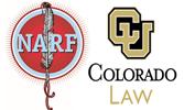 NARF -CU Law logos