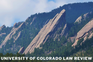 Implementation Conference Report Available at the CU Law Review