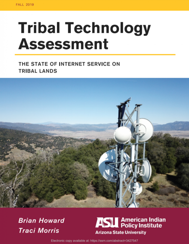 Tribal Technology Assessment: The State of Internet Service on Tribal Lands